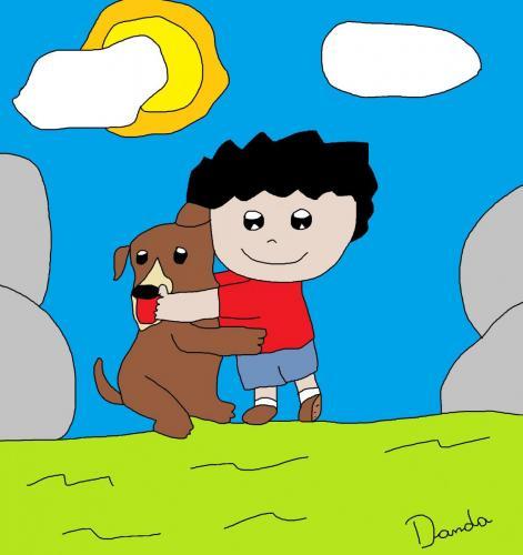 cachorro menino